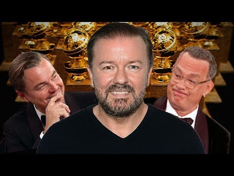 "Ricky Gervais OBLITERATES ""Woke"" Hollywood Elite In EPIC Golden Globes ROAST!!!"