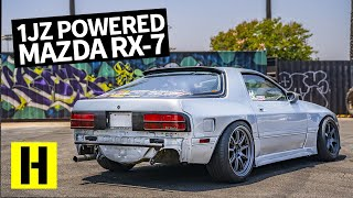 Dorito-Free Mazda RX-7: 1JZ Powered FC Sounds Amazing!