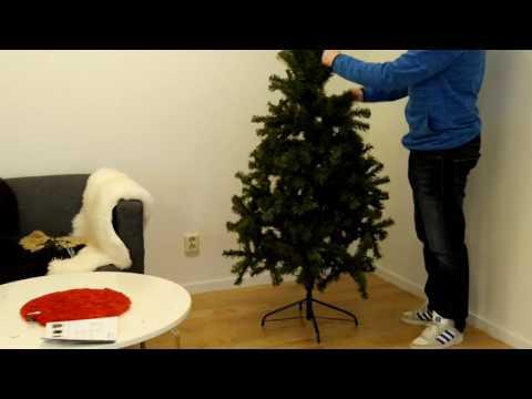 Julgransmontering av Star Trading Ottawa 180cm grön 180 st LED-lampor | StayHome se