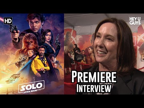 When Han Met Chewie - Producer Kathleen Kennedy on Solo: A Star Wars Story World Premiere Interview