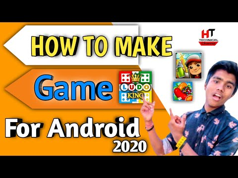 How To Make 3D Games In Android Without Coding || 2020(Hindi)