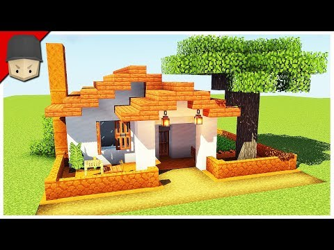 How To Build A Small Simple House In Minecraft (Minecraft House Tutorial)