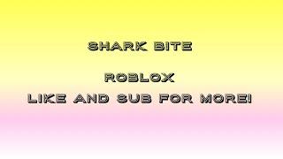 SHARK BITE roblox with daniel