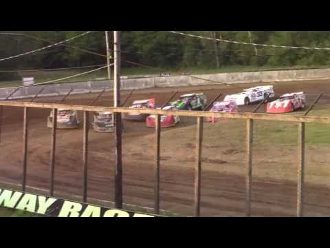 Eriez Speedway Super Late Model Heat Races 7-9-17