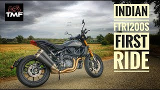 Indian FTR1200 S Flat Tracker Review