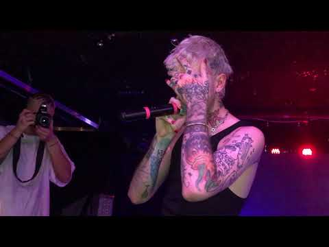 Lil Peep - 'The Brightside' (Live in Atlanta @ The Loft 11/07/17) w/ lyrics