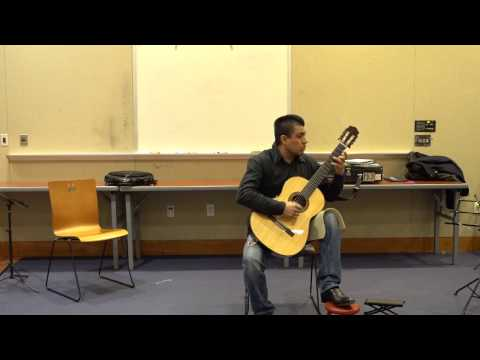 February 2017 OpenMic: Dante - Works by Barrios and Ayala