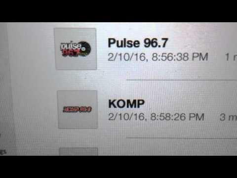 "KOMP: ""KOMP 92.3"" Las Vegas, NV 9pm TOTH ID--02/10/16"