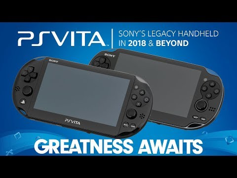 PlayStation Vita | Sony's Legacy Handheld in 2018 & Beyond