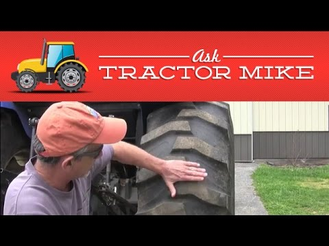 Proper Tractor Tire Inflation