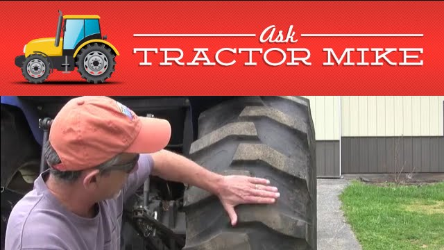 Proper Tractor Tire Inflation Youtube