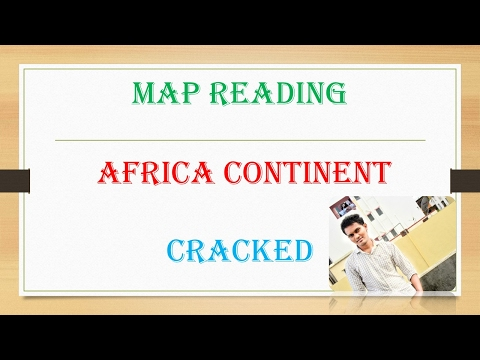 TRICK Map Reading Africa Continent!!!