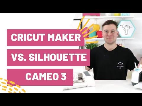 Cricut Maker vs  Silhouette Cameo 3 - Which Machine Should I