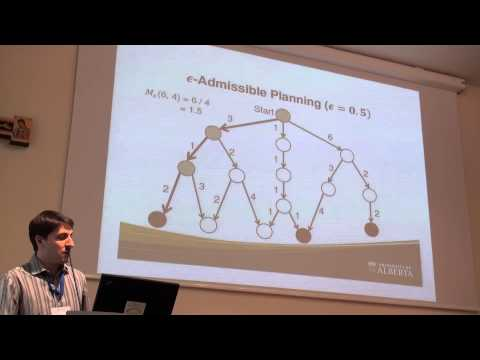 ICAPS 2013: Richard A. Valenzano - Using Alternative Suboptimality Bounds in Heuristic Search