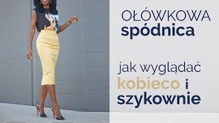 Ołówkowa spódnica. Jak wyglądać w niej kobieco i szykownie? | ZOPHIA Osobista Stylistka