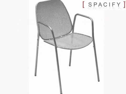 Retro Outdoor Metal Chairs, Outdoor Furniture