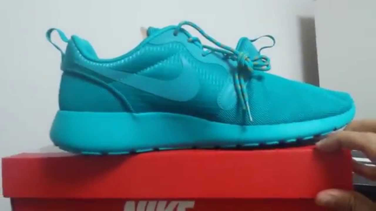 Nike Roshe Run Hyperfuse Turbo Green