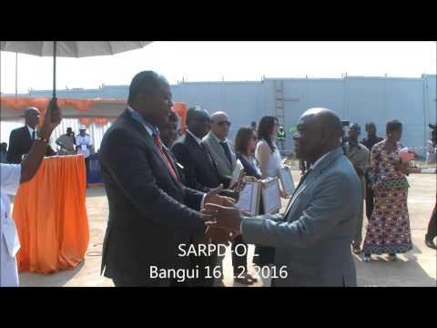 SARPDOIL: Cérémonie de l'innauguration Stations-sarvices Bangui-RCA