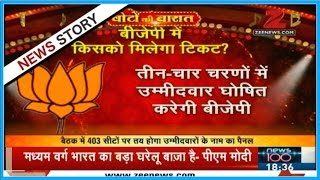 Voto Ki Baarat | Many big leaders not present during BJP election committee meeting in Lucknow