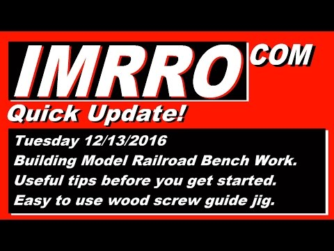 Start Building Model Railroad Benchwork – 341