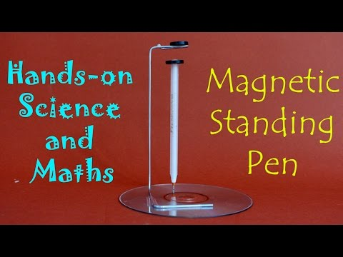 Magnetic Standing Pen | English