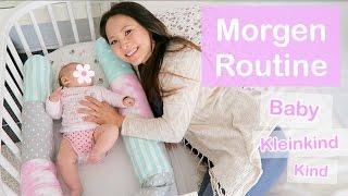 MORGENROUTINE MIT BABY KLEINKIND KIND | Mamiseelen
