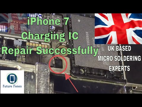How to Fix and Repair iPhone 7 Charging IC and Diagnose the Related Problems : UK
