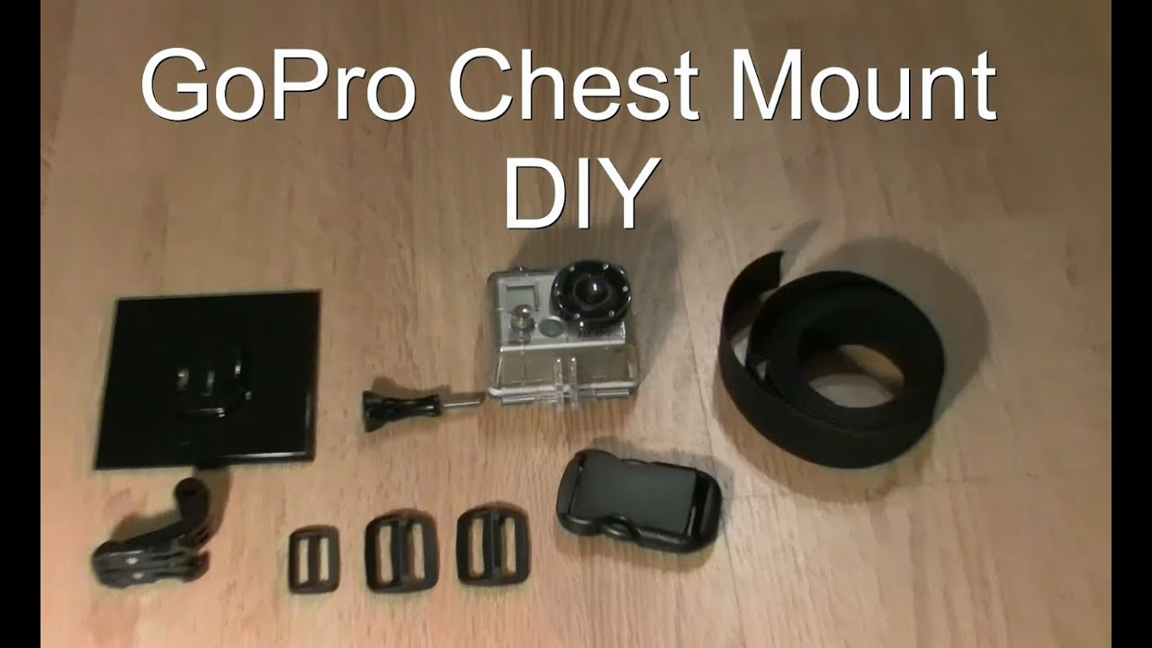 gopro brustgurt selber bauen chest mount diy youtube. Black Bedroom Furniture Sets. Home Design Ideas