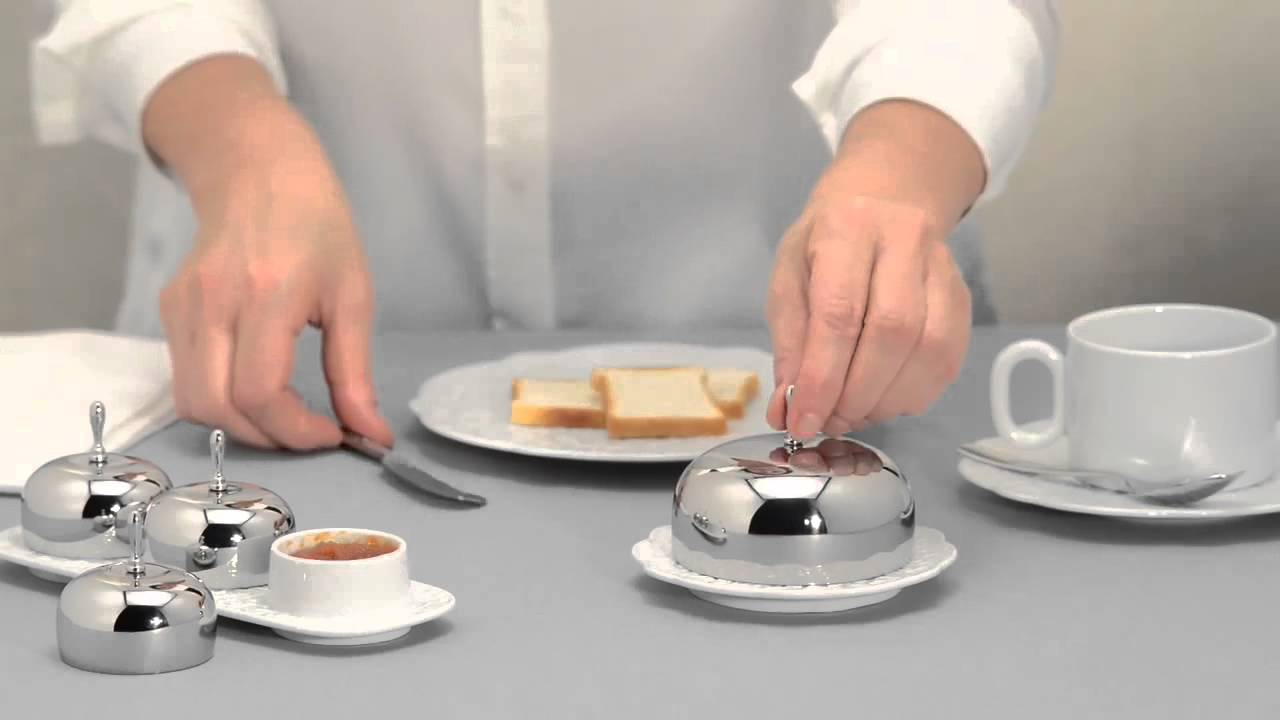 Dressed for breakfast alessi youtube for Alessi dressed prezzo