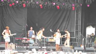 Young The Giant - Hangout On The Beach Festival 2012 - Apartment