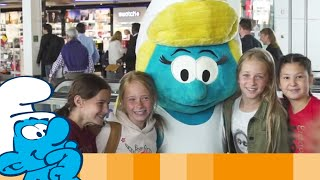 Brussels Airlines And The Smurfs Wish You Smurfy Holidays • Smurffit