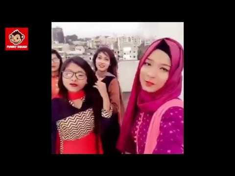 Kene Cholor!!!    Girls Funny Moment    Funny Video