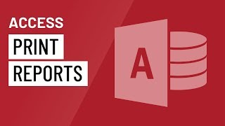 In this video, you'll learn the basics of creating reports in Acces...
