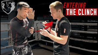 World's Best Muay Thai Clincher on 'How to Enter the Clinch'