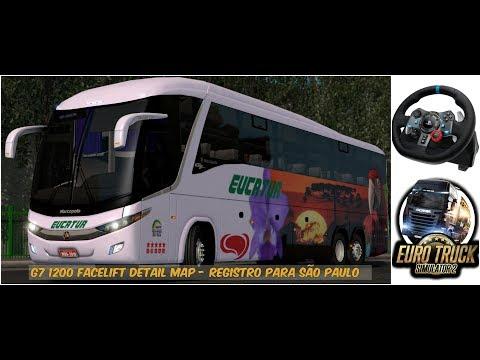 ETS2 G7 1200 Facelift Detail Map - Registro para São Paulo