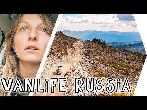VAN LIFE RUSSIA - Unforgettable Road Trip Through The Urals / White Nights, Break Down & New Friends