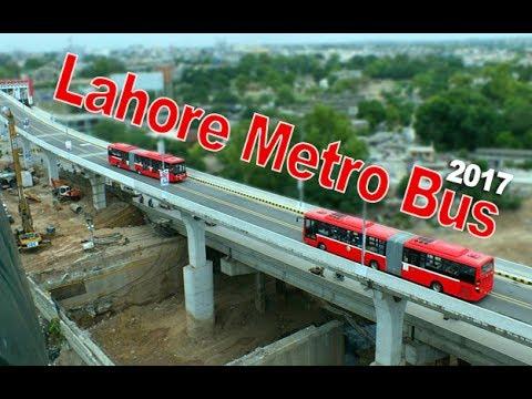 Lahore Metro Bus Experience - 2017 (4K video)