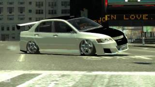 GTA 4 mods PC Mitsubishi Lancer EVO 8 Tuned + download [HQ]