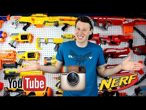 Instagram and 1st Person Nerf contests!