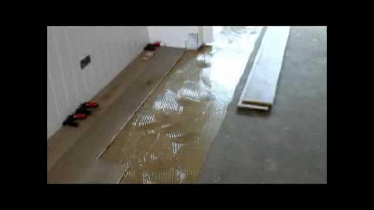 Houten Vloer Lijmen : Houten vloer lijmen lamelparket vloer erop houten vloer is klaar