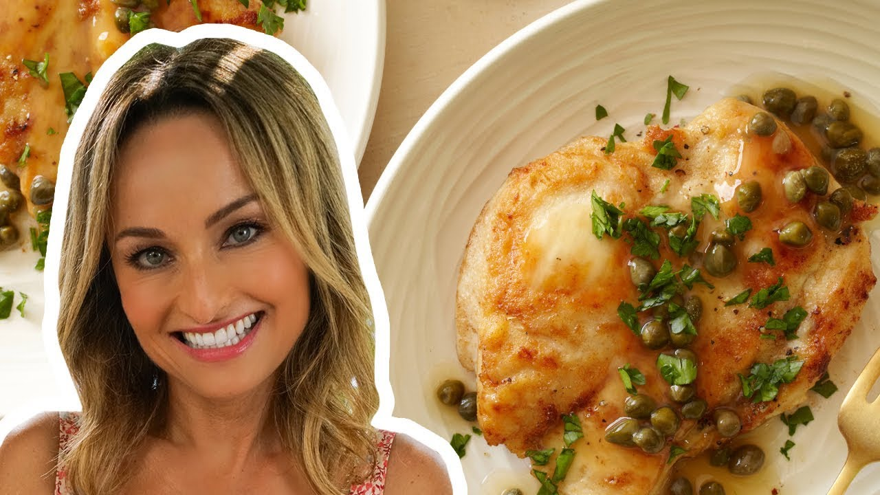 Giada De Laurentiis Makes Chicken Piccata | Food Network