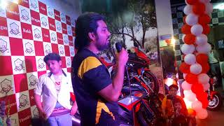 Dat Biker Dude In Sigma Motorsports Lahore to much fun