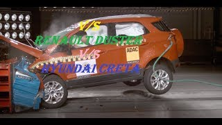 Duster V/S Frod Ecosport V/S Creta Crash Test EuroNCAP, LATIN NCAP Safety Rating