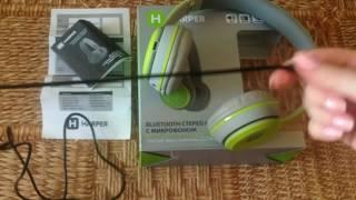 Bluetooth-навушники Harper HB-212 - Огляд