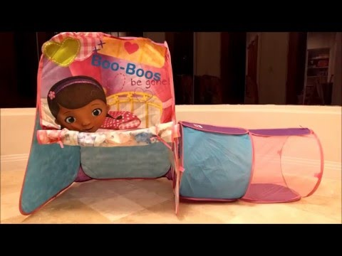 PlayHut Doc McStuffins Discovery Hut Toy Review