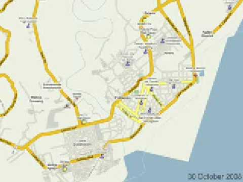 Google MapMaker Time Stamp Video - Davao