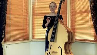 Rockabilly Double Bass Tutorial - The Double Slap in a Swing Rhythm