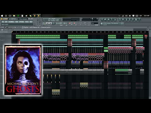 Michael Jackson - Ghosts [FL STUDIO REMAKE]