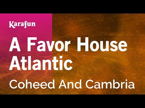 Karaoke A Favor House Atlantic - Coheed And Cambria *