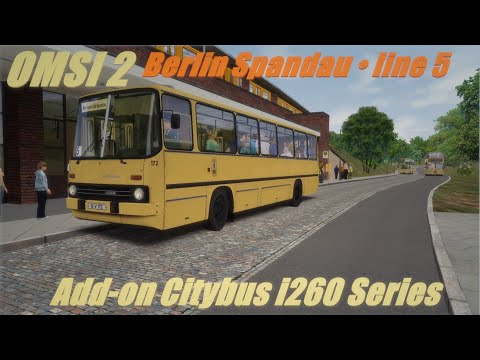 OMSI 2 • Add-on Citybus I260 Series • Berlin Spandau (line 5)